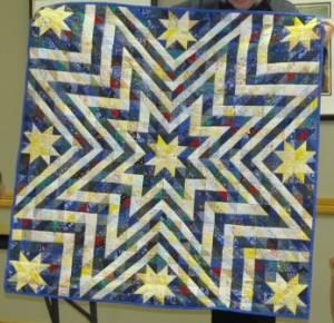 Rosemary's star quilt