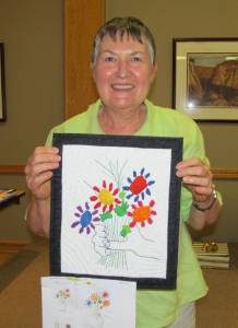 Judi Sullivan 3rd - President's challenge from a picture