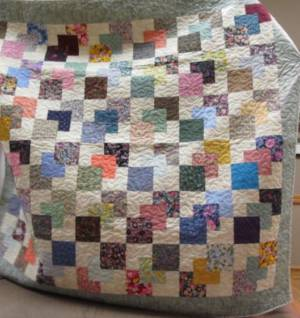 "Penny's Quilt 1stplace in Guild Special ""Twin size quilt"" at Shelburne Fair"
