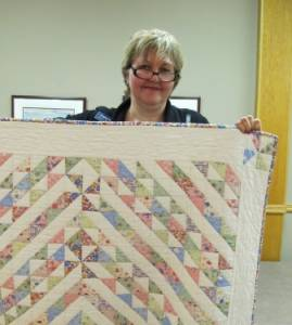 Virginia Ingleby of Undercover Quilts - March meeting speaker