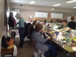 Hard at work at spring retreat '16